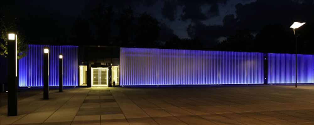 Custom fence design and led lighted, COMMERCIAL INTERIOR REMODELING