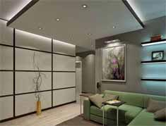 suspended ceiling led lighted