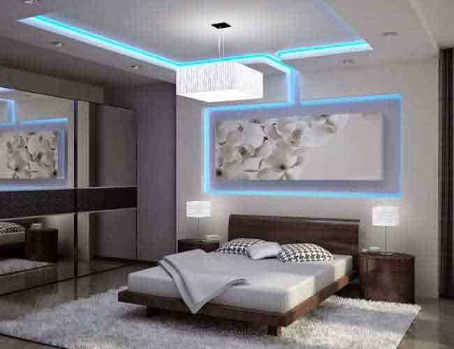 Interior design and build out, custom led light