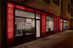 Commercial Custom Facade LED lighting and design